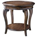 A.R.T. Furniture Inc Continental Round Lamp Table - Item Number: 237303-2624