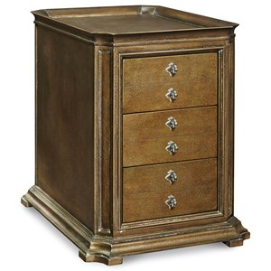 A.R.T. Furniture Inc Continental Storage End Table