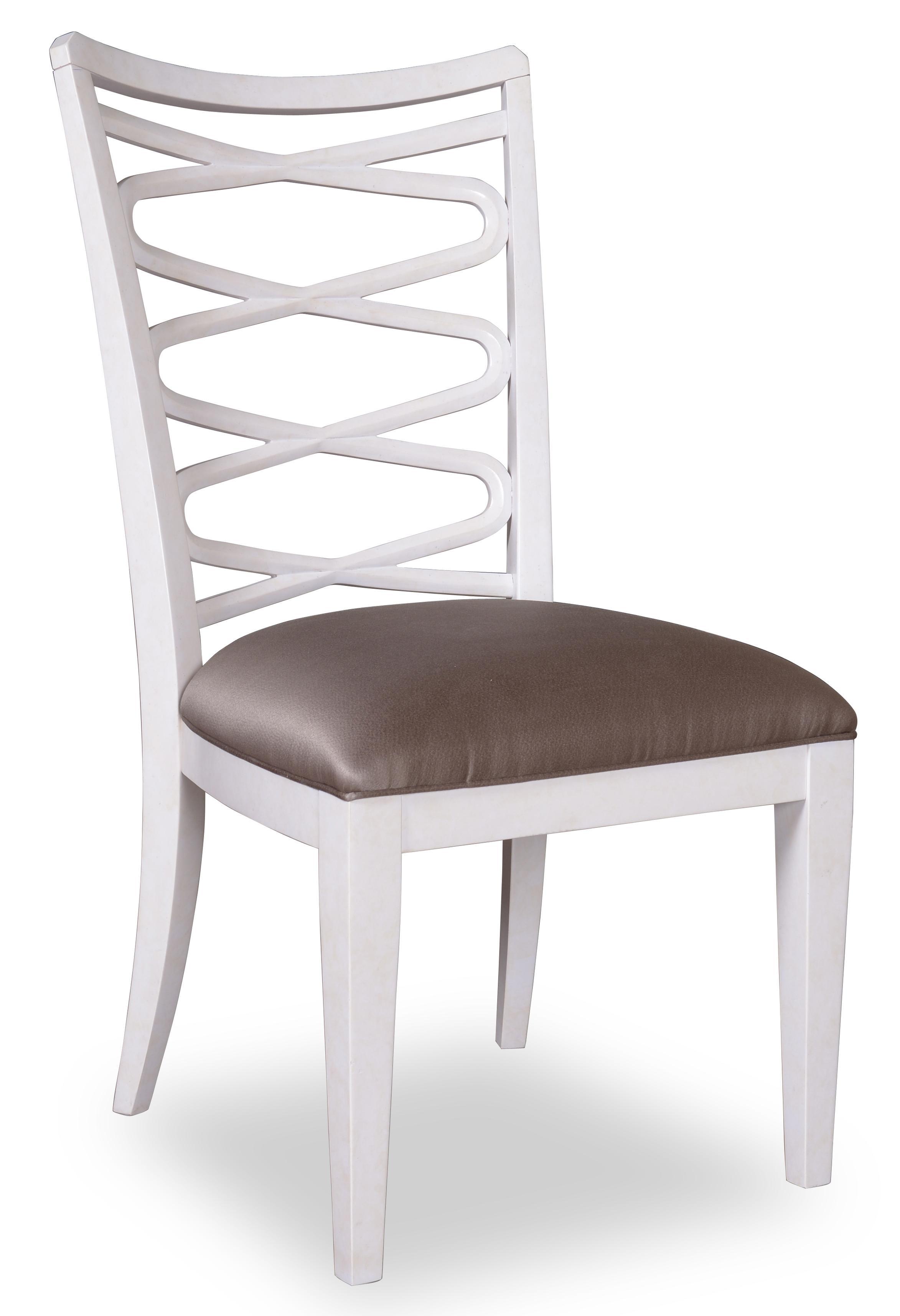 Belfort Signature Magellan Ribbon-Back Side Chair - Item Number: 208204-1817