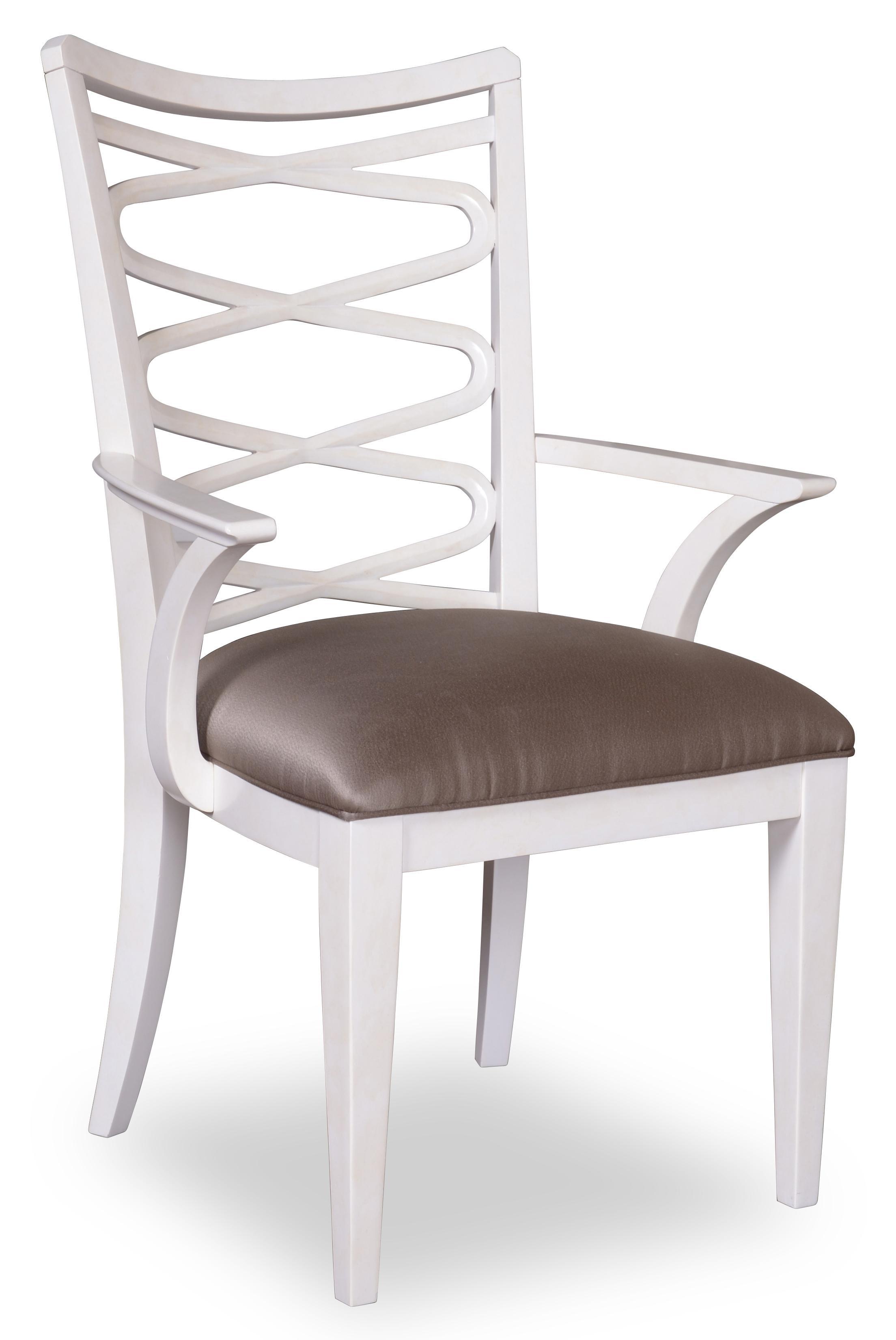 Belfort Signature Magellan Ribbon-Back Arm Chair - Item Number: 208205-1817