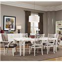 Belfort Signature Magellan 7-Piece Leg Dining Table Set