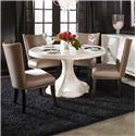 A.R.T. Furniture Inc Cosmopolitan 5-Piece Round Table Set - Item Number: 208225-1817+4x208206-1815