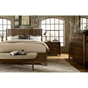 A.R.T. Furniture Inc Echo Park California King Shelter Bed with Slats