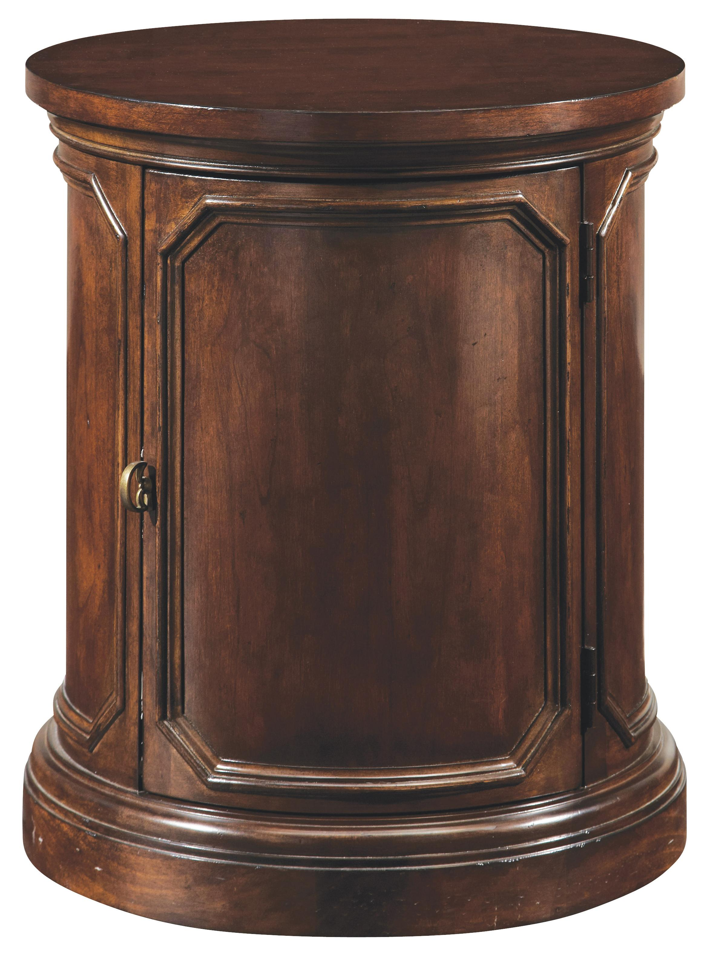 Belfort Signature Edwards Ferry Round Lamp Table - Item Number: 210303-2106