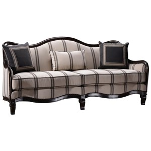 A.R.T. Furniture Inc Empyrean Sky Carved Frame Sofa
