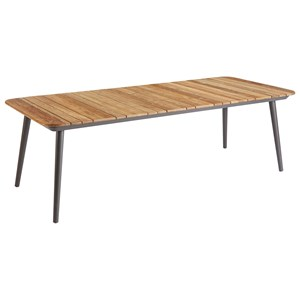 Darrow Teak Rectangular Dining Table