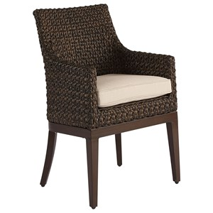 Franklin Wicker Dining Chair