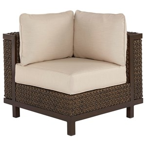 Brentwood Wicker Corner/End Chair