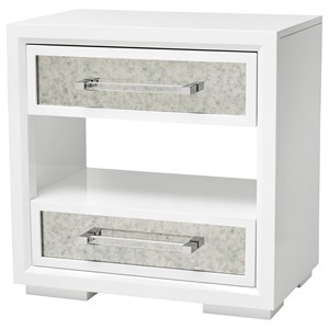 Brickell Mirrored Nightstand