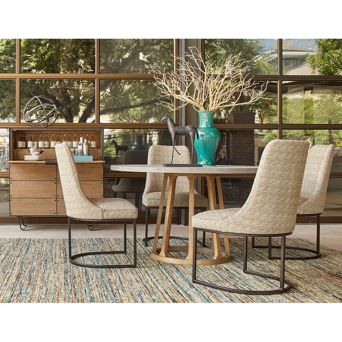 Belfort Signature Rainey Street Casual Dining Room Group - Item Number: 235000-1501 Dining Room Group 3