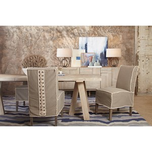 A.R.T. Furniture Inc Epicenters Austin Casual Dining Room Group