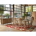The Great Outdoors Epicenters Austin Formal Dining Room Group - Item Number: 235000-2839 Dining Room Group 1