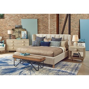 A.R.T. Furniture Inc Epicenters Austin Queen Bedroom Group