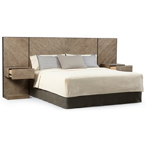 Queen Cedar Park Wall Panel Bed