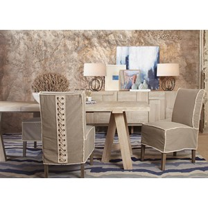 A.R.T. Furniture Inc Epicenters Austin 5-Piece Westlake Dining Table Set