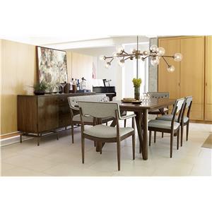 Markor Furniture Epicenters Formal Dining Room Group