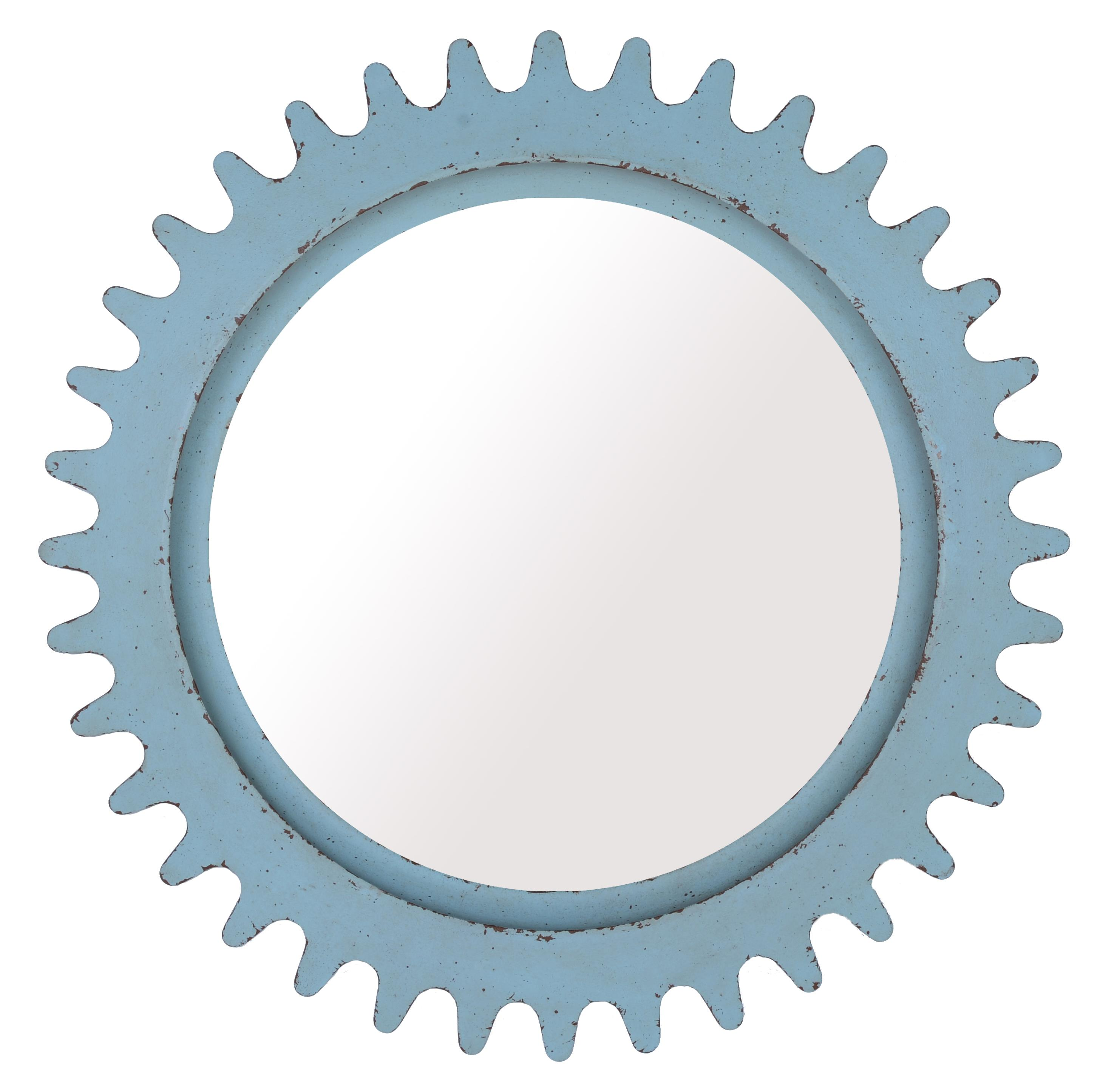 Belfort Signature Urban Treasures Shaw Round Factory Mirror - Item Number: 223122-2621