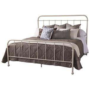 Belfort Signature Urban Treasures Queen Shaw Metal Bed