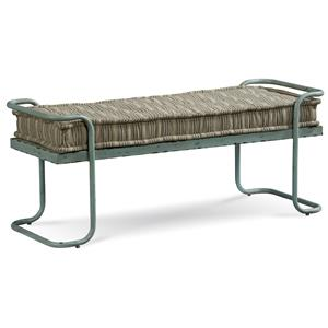 Belfort Signature Urban Treasures Rustic Metal Shaw Bed Bench