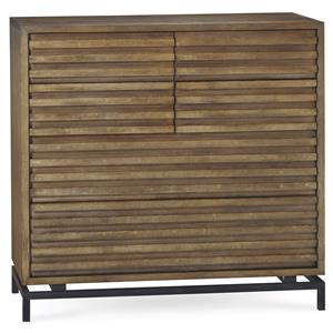 Belfort Signature Urban Treasures Shaw Drawer Chest with Metal Base