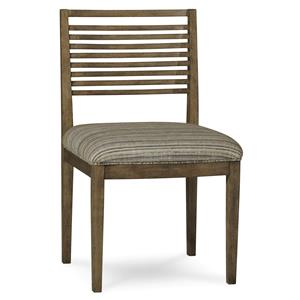 Belfort Signature Urban Treasures Shaw Slat-Back Side Chair