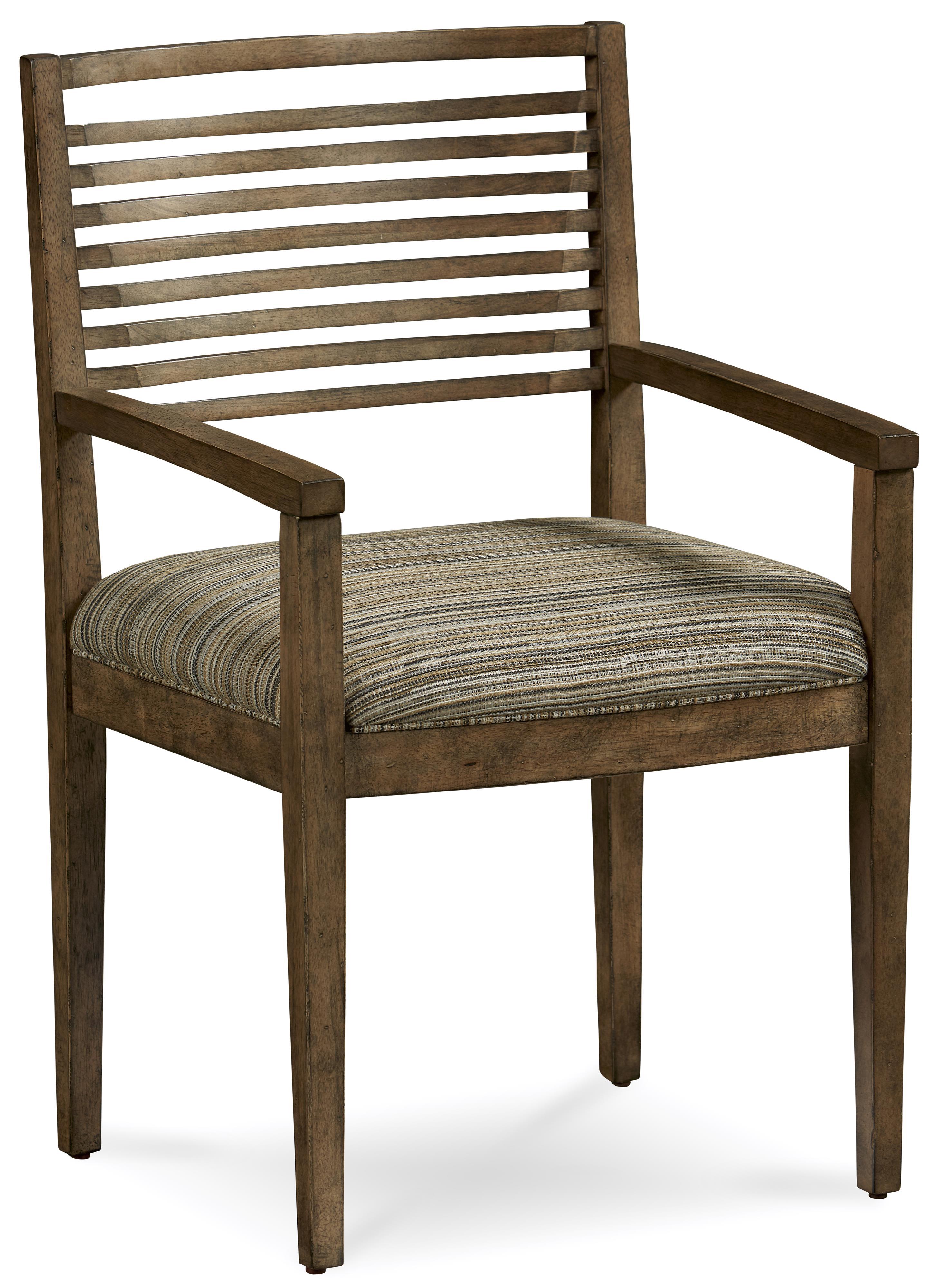 Belfort Signature Urban Treasures Shaw Slat-Back Arm Chair - Item Number: 223205-2302