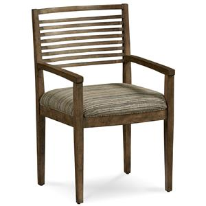 A.R.T. Furniture Inc Epicenters Williamsburg Slat-Back Arm Chair