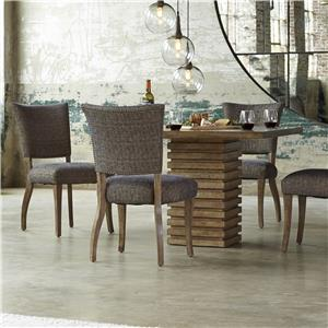 5-Piece Williamsburg Pedestal Table Set