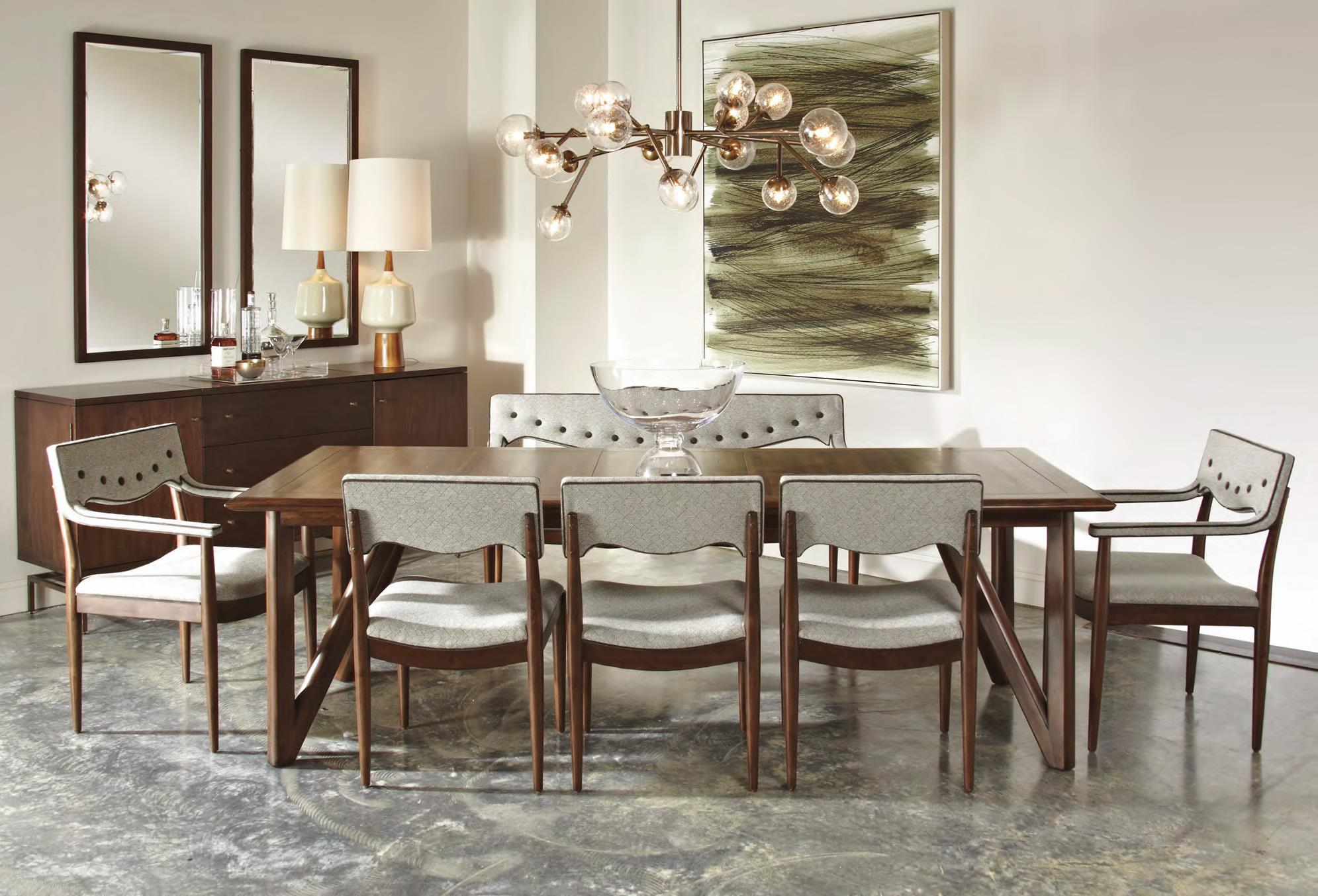 A r t furniture inc epicenters silver lake rectangular for A r t dining room furniture