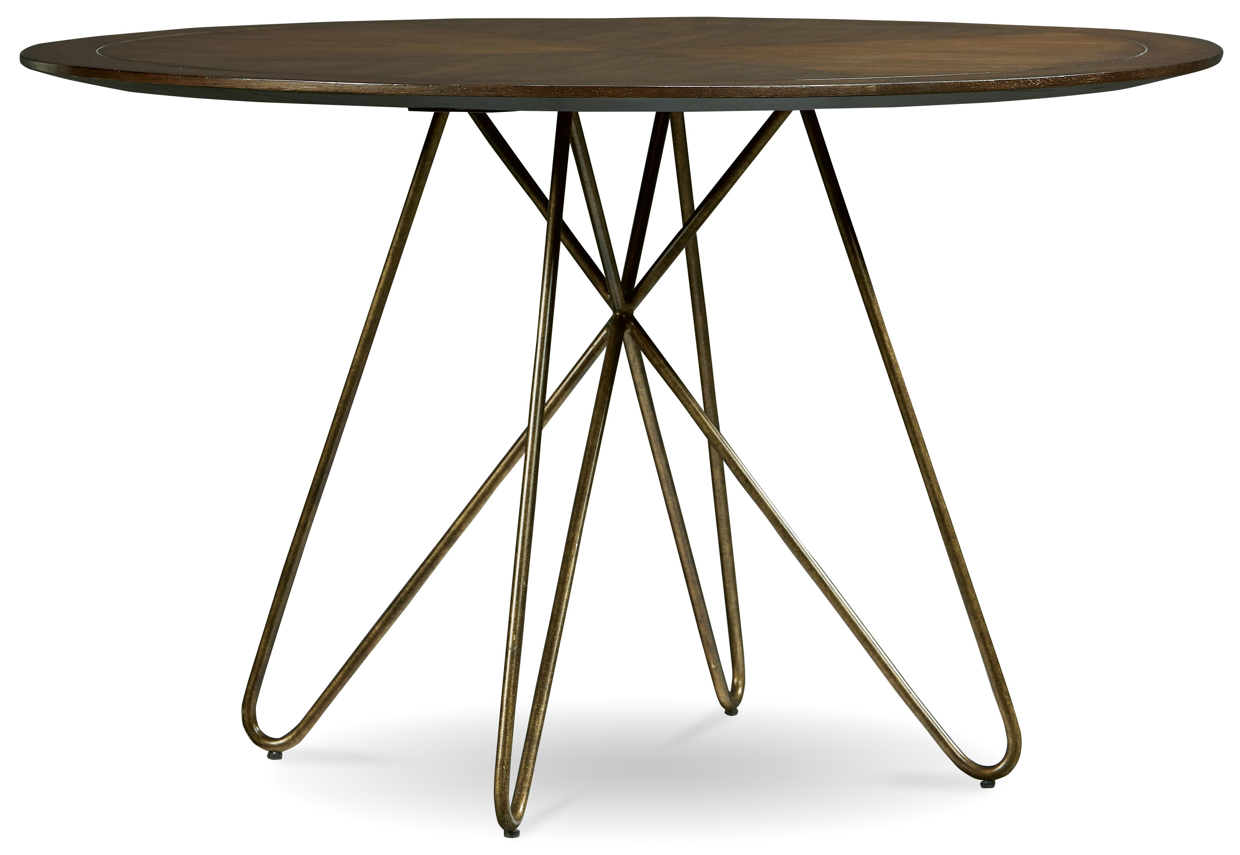 Belfort Signature Urban Treasures 14th and U Round Dining Table - Item Number: 223225-1812