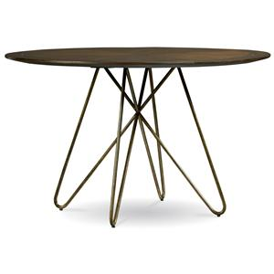 Belfort Signature Urban Treasures Silver Lake Round Dining Table