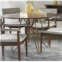 Belfort Signature Urban Treasures 14th and U Round Dining Table