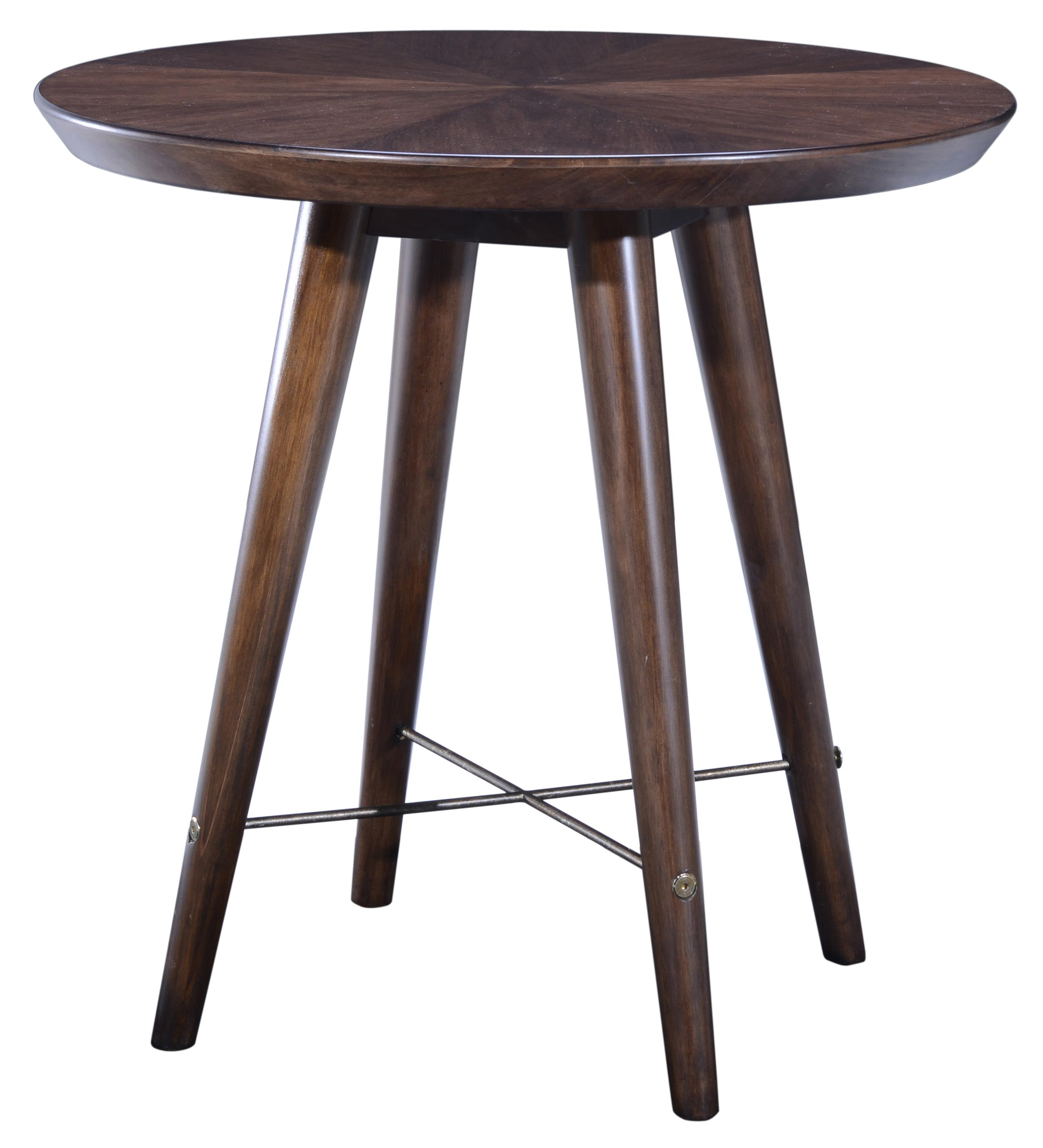 Belfort Signature Urban Treasures 14th and U Round End Table - Item Number: 223303-1812
