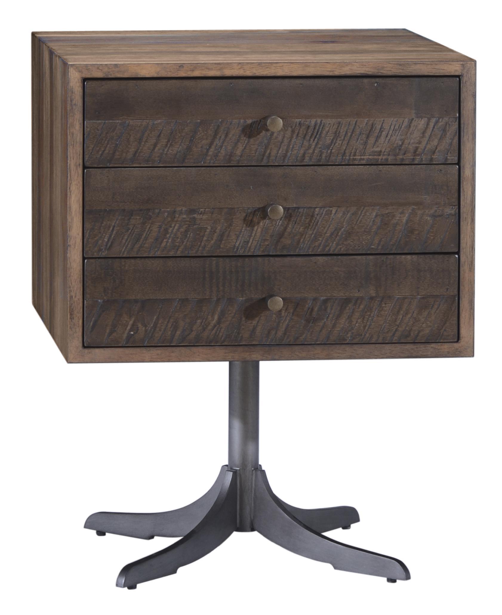 Belfort Signature Urban Treasures Shaw Pedestal End Table - Item Number: 223304-2302