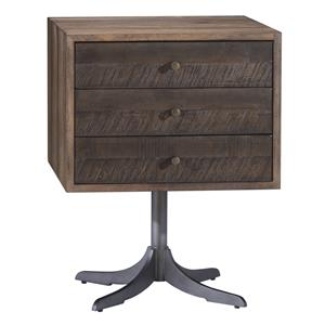 Belfort Signature Urban Treasures Shaw Pedestal End Table