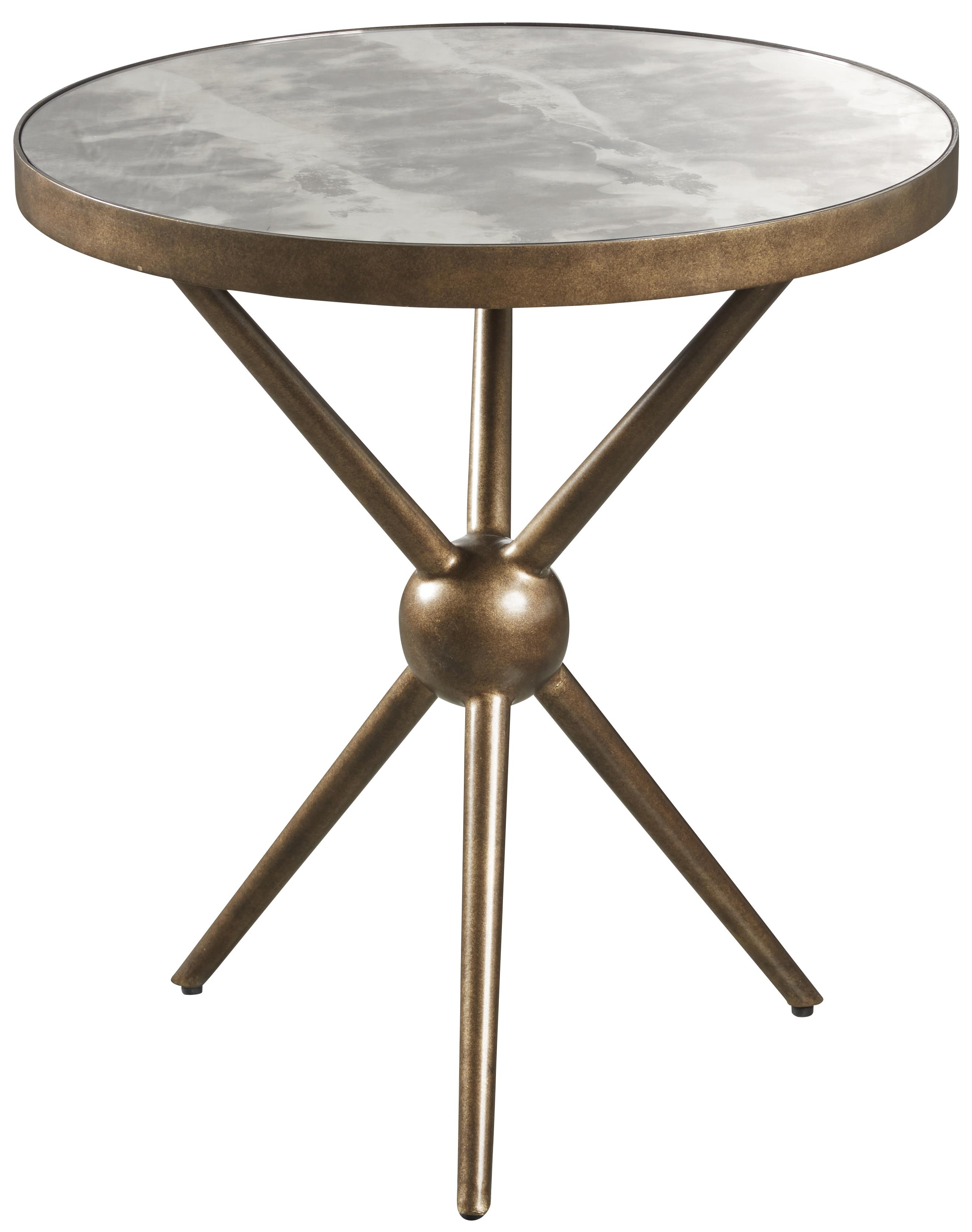 Belfort Signature Urban Treasures 14th and U Round End Table - Item Number: 223305-1250