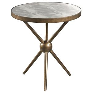 Markor Furniture Epicenters Silver Lake Round End Table