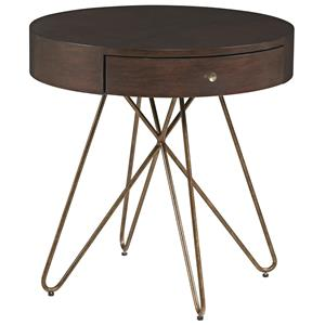 A.R.T. Furniture Inc Epicenters Silver Lake Round End Table