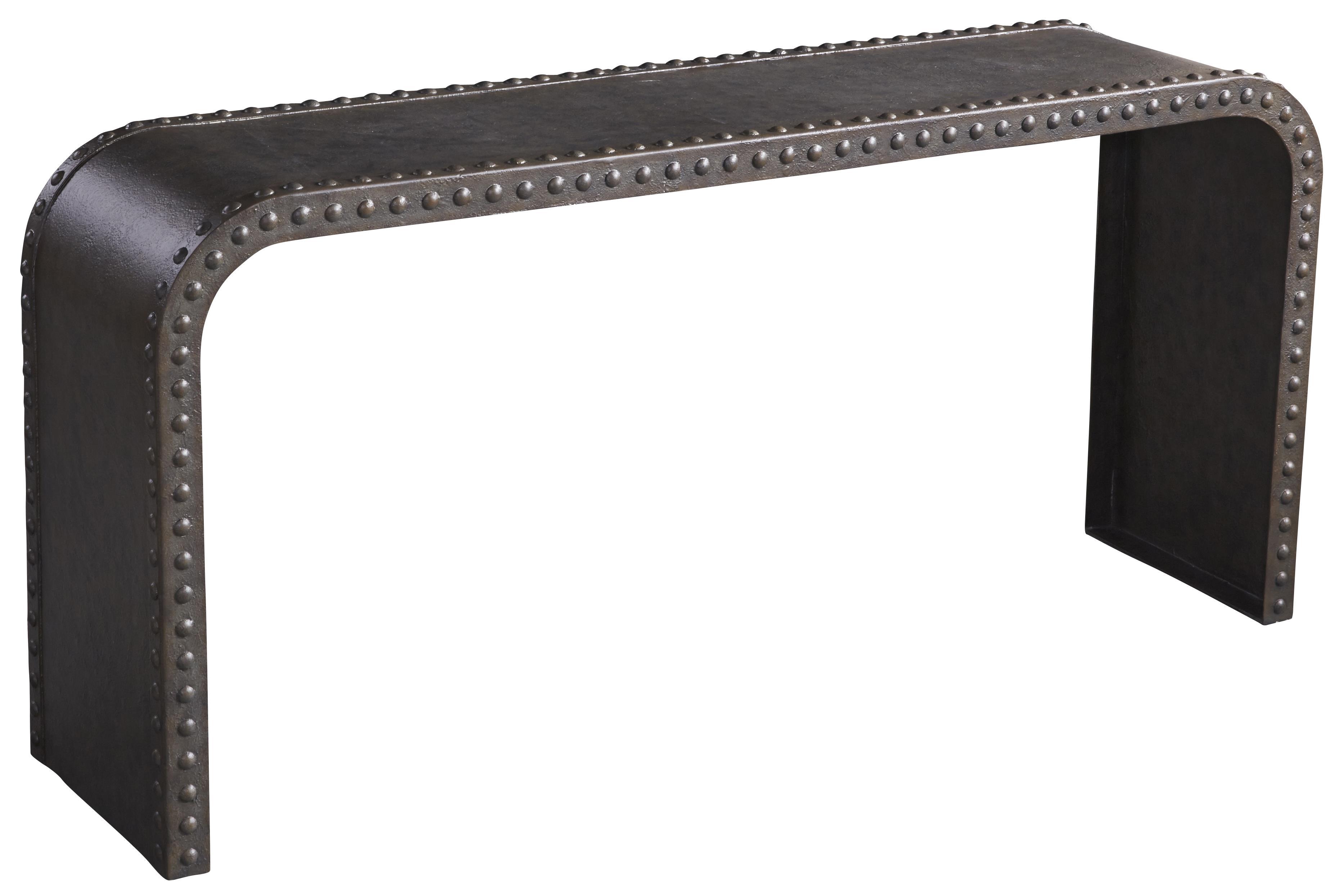 Belfort Signature Urban Treasures Shaw Metal Console Table - Item Number: 223307-1218
