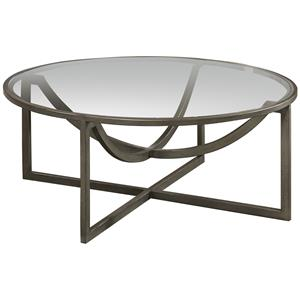 A.R.T. Furniture Inc Epicenters Williamsburg Round Cocktail Table