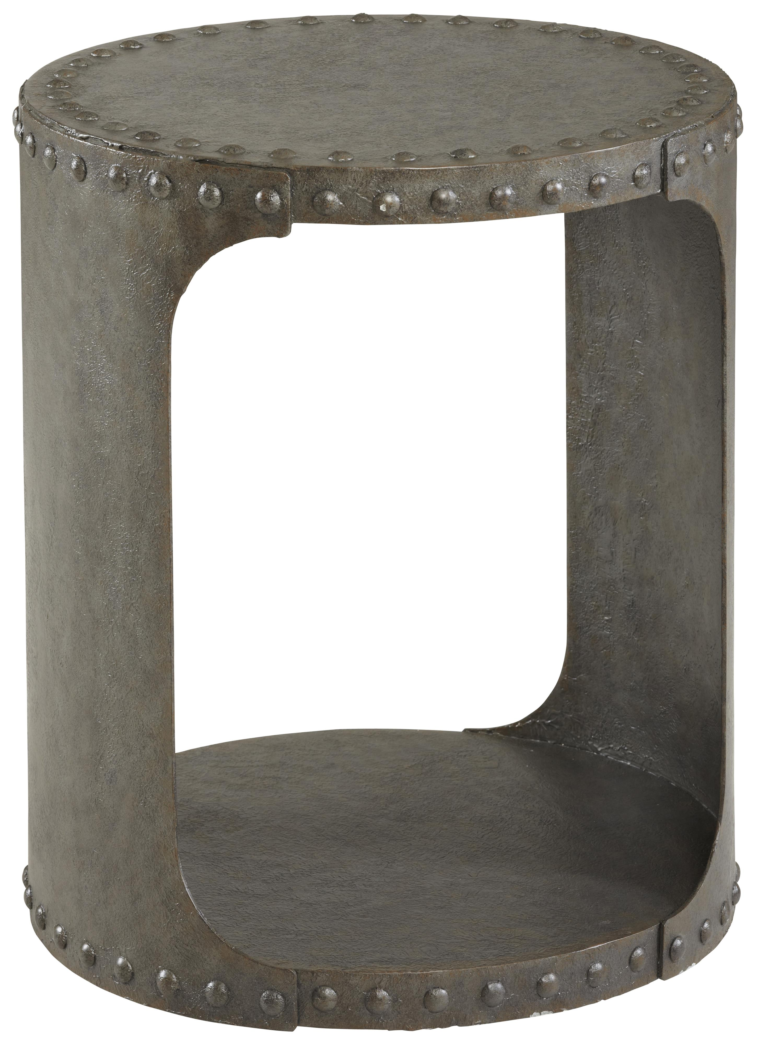 Belfort Signature Urban Treasures Shaw Metal End Table - Item Number: 223315-1218