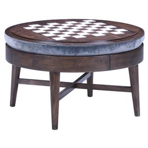 A.R.T. Furniture Inc Epicenters Silver Lake Game Storage Cocktail Ottoman