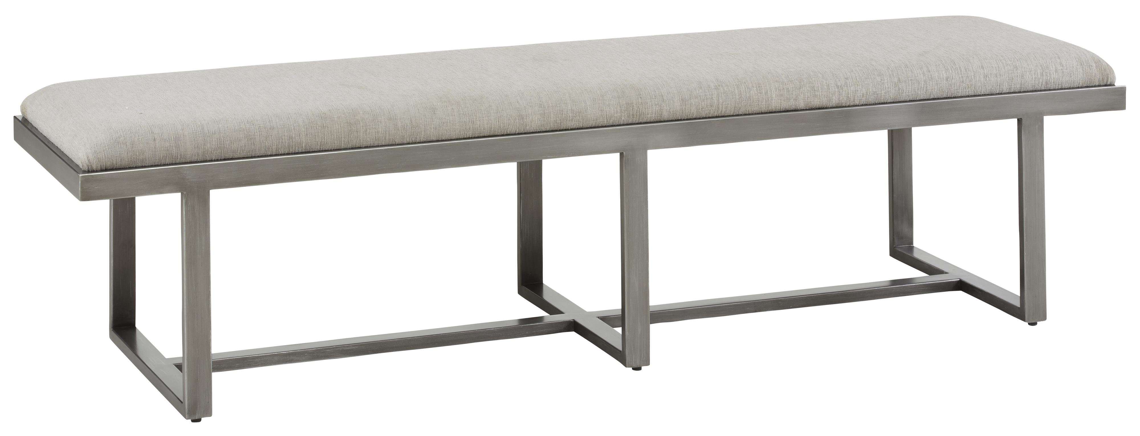 Belfort Signature Urban Treasures 14th and U Metal Bench - Item Number: 223372-1227