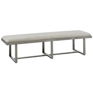 A.R.T. Furniture Inc Epicenters Silver Lake Metal Bench