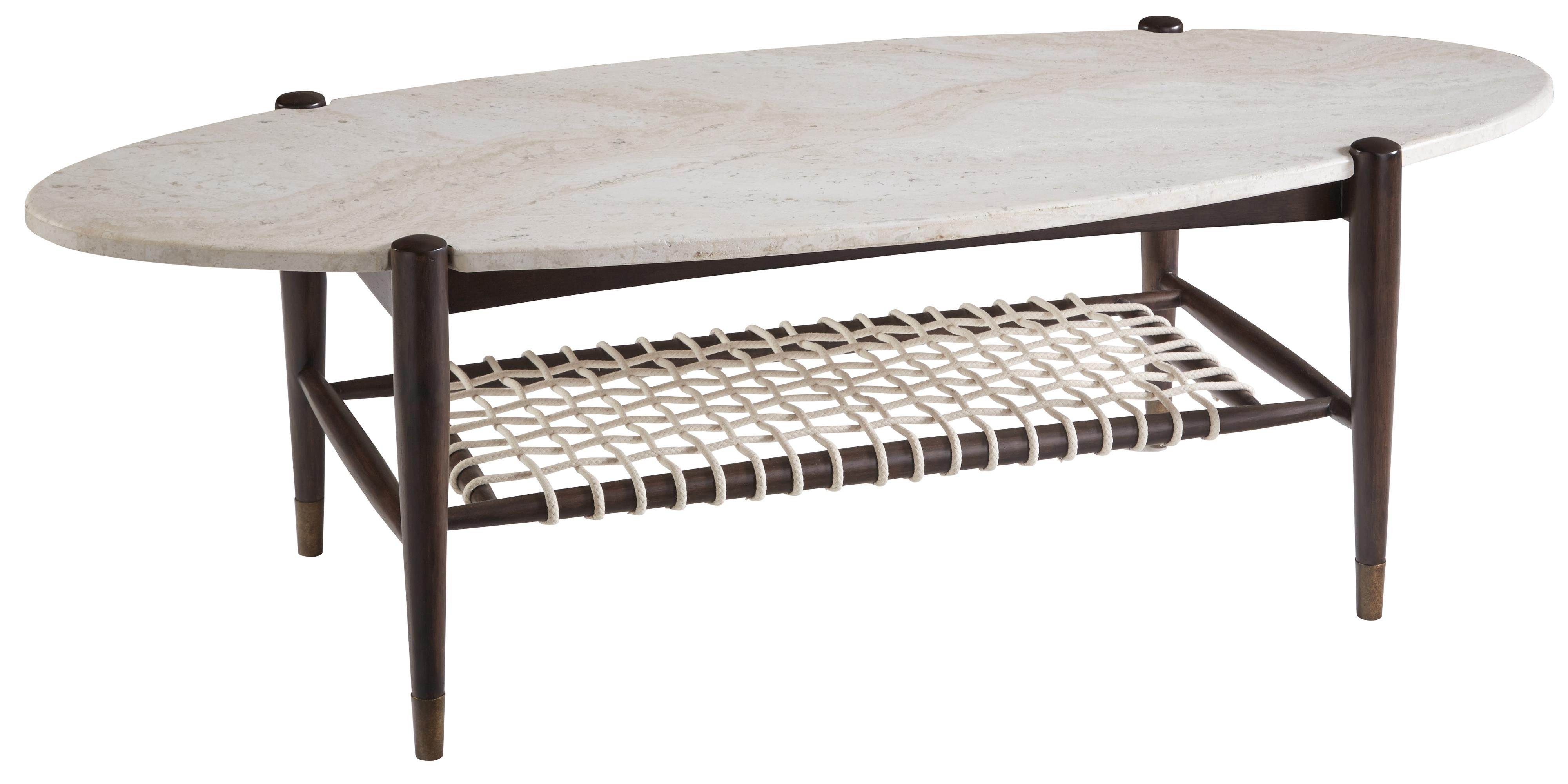 Belfort Signature Urban Treasures 14th and U Oval Cocktail Table - Item Number: 223382-1812