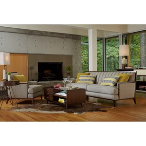 Belfort Signature Urban Treasures Stationary Living Room Group