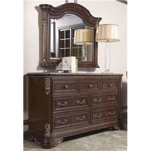 A.R.T. Furniture Inc Gables Dresser & Landscape Mirror