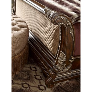 A.R.T. Furniture Inc Gables Queen Upholstered Sleigh Bed