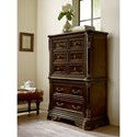 A.R.T. Furniture Inc Gables Traditional Chest-on-Chest with Hidden Jewelry Compartments