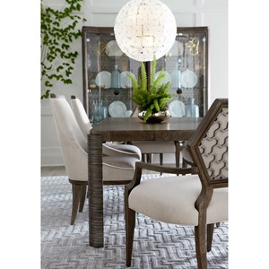 A.R.T. Furniture Inc Geode Formal Dining Room Group